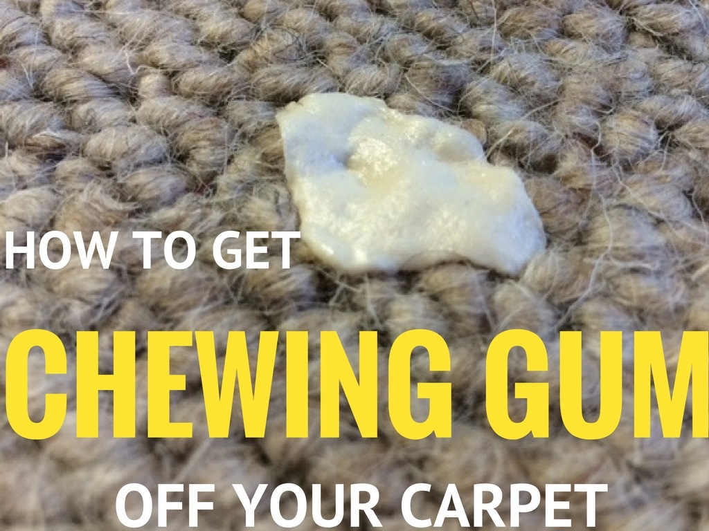 how-to-get-chewing-gum-off-your-carpet