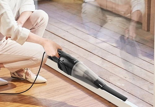 BESTEK 2-in-1 Corded Upright Stick handheld vacuum