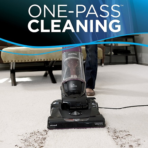 BISSELL 9595A upright Vacuum with OnePass cleaning