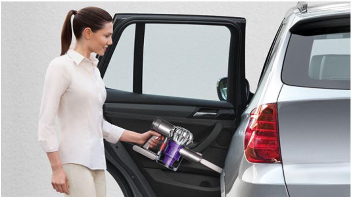 Dyson V6 Motorhead handheld vacuum car cleaner