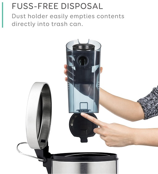 Eufy HomeVac Lightweight Cordless Bin Disposal
