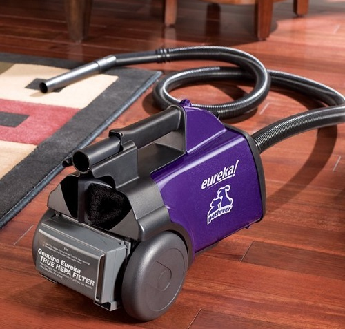 Eureka Mighty Mite Canister Vacuum for pets