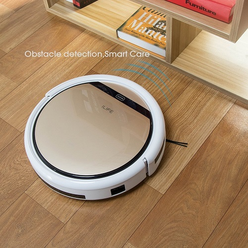 ILIFE V5s Robot Vacuum Cleaner with clever navigation