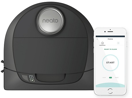 Neato Botvac D5 Connected Navigating Robot Vacuum-Pet and Allergy