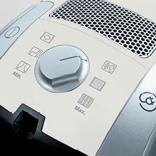 Miele C1 Suction Control via Rotary Dial