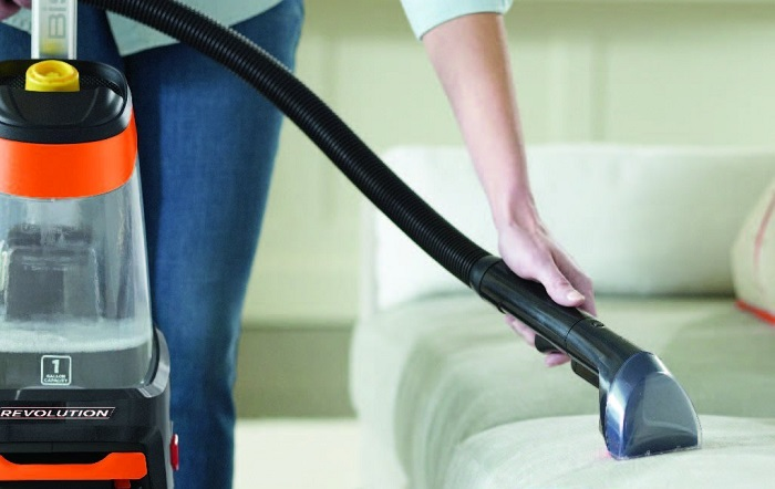 bissell proheat 2x revolution upright carpet cleaner