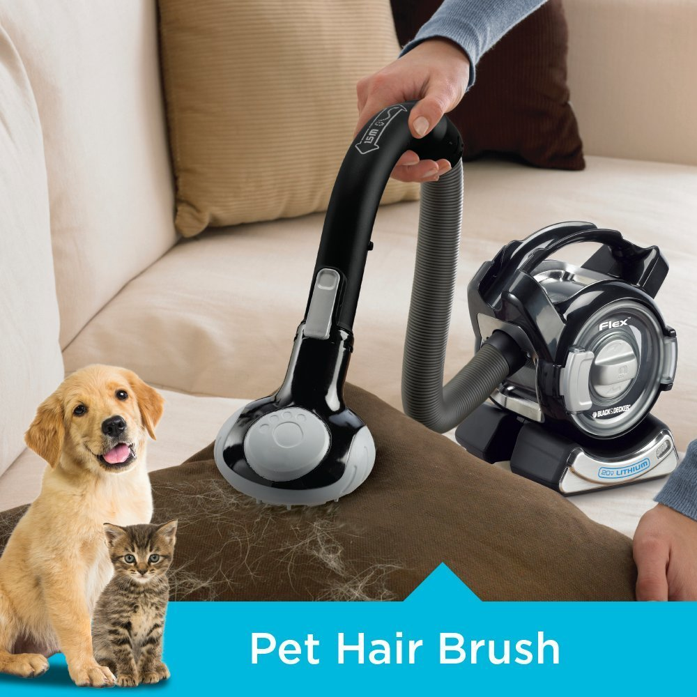 Black-Decker-Handheld-Vacuum-pet-hair-brush