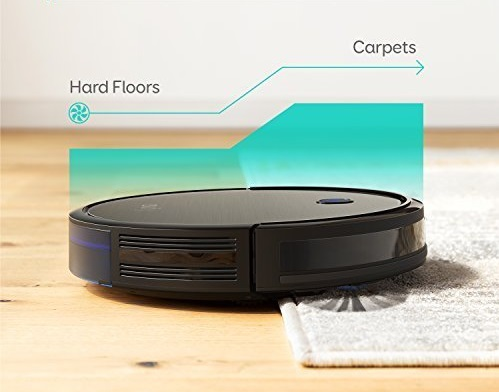 RoboVac-11S-Robotic-Vacuum-cleaner-for-pet-owners-with-carpets