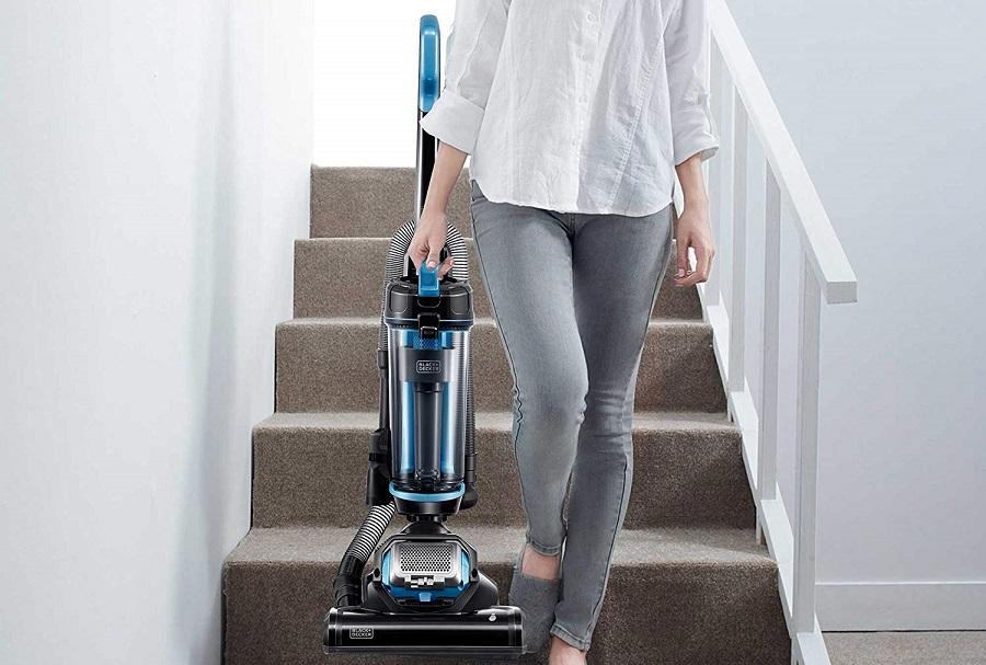 Black-&-Decker-AIRSWIVEL-Ultra-Light-Weight-Upright-Vacuum-Cleaner
