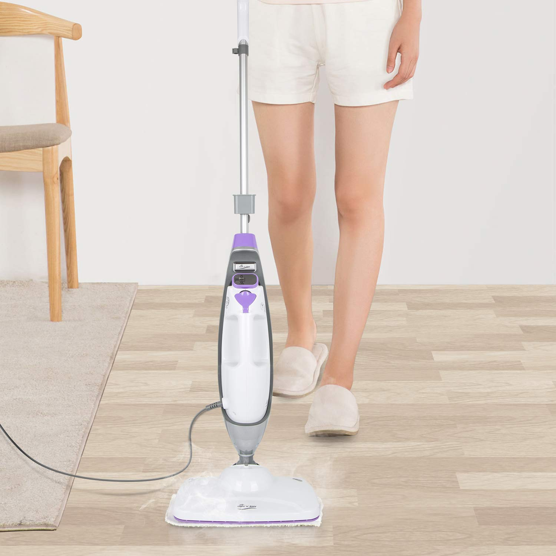 LIGHT-N-EASY-S3601-10-in-1-System-Laminate-Hardwood-Floor-Steamer