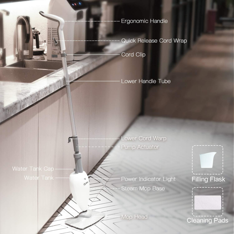 LIGHT-N-EASY-Steamer-Mop-and-Sanitizer-(S3101)