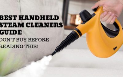 Best Handheld Steam Cleaners Guide (2019)- Don't Buy Before Reading This!