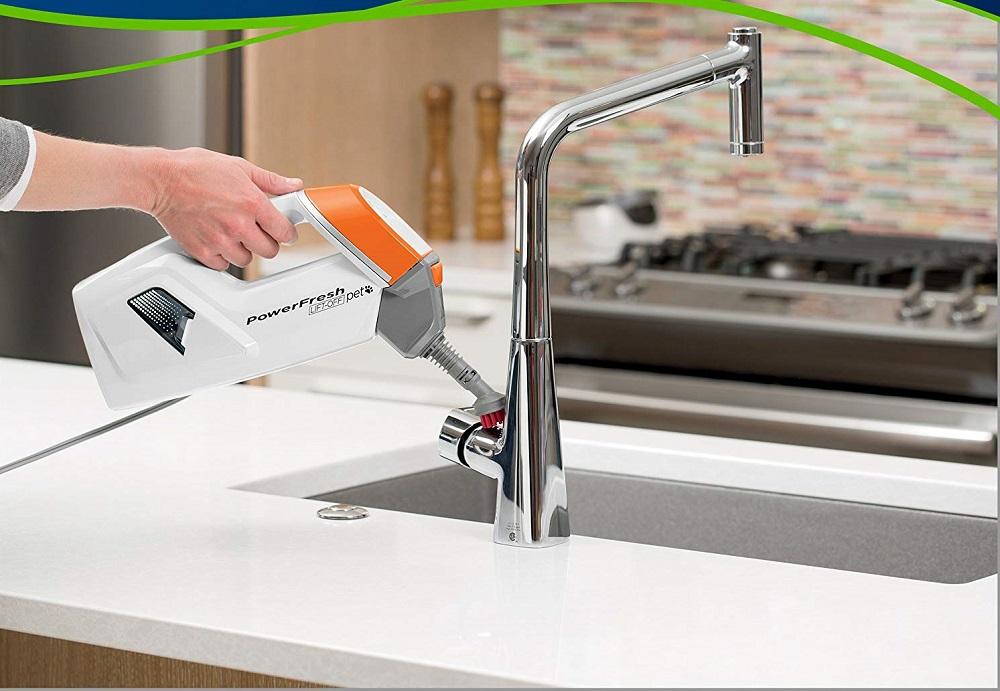 Bissell-PowerFresh-Lift-Off-Pet-Steamer-Floor Cleaner-1544A