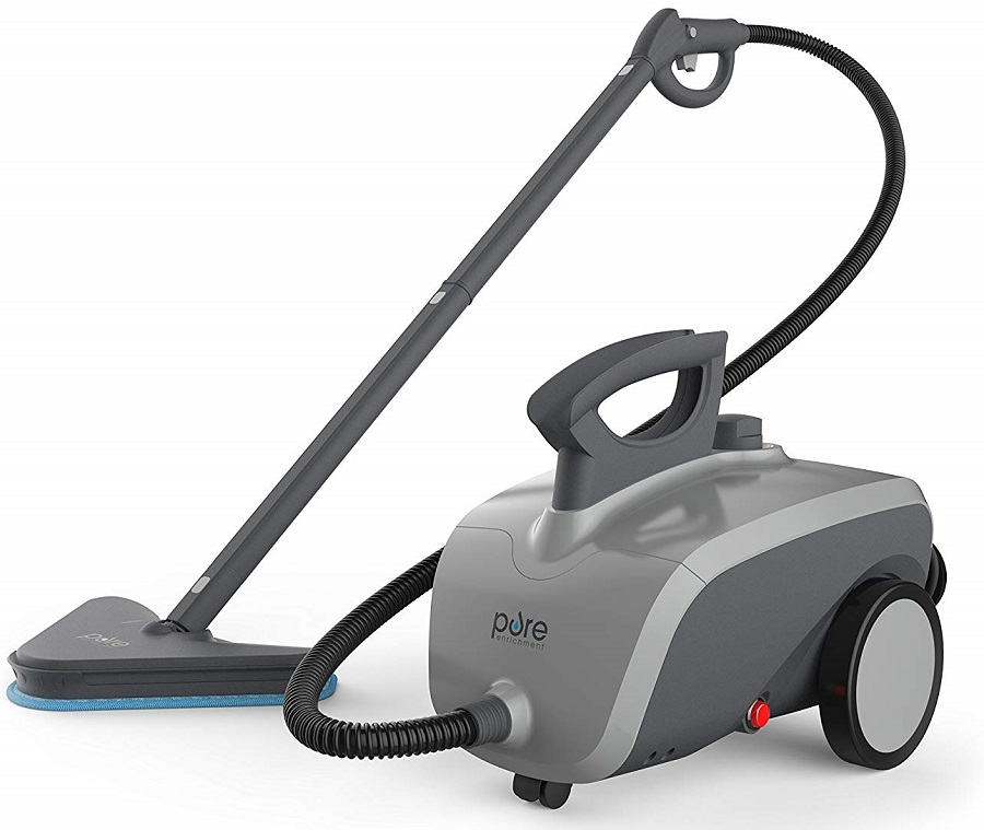 Rolling-Canister-Steam-Cleaner