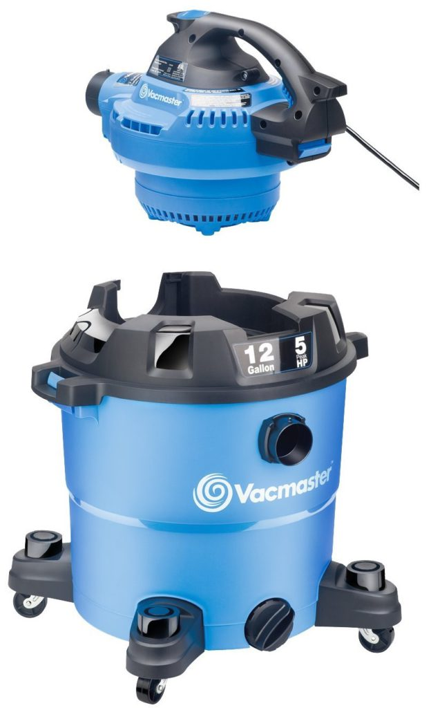 Vacmaster-12-Gallon-5 Peak-HP-Wet-Dry-Vacuum-with-Detachable-Blower-VBV1210