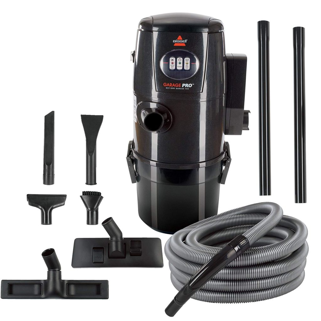 Bissell-Garage-Pro-Wall-Mounted-Wet-Dry-Car-Vacuum-Blower-With-Auto-Tool-Kit-18P03