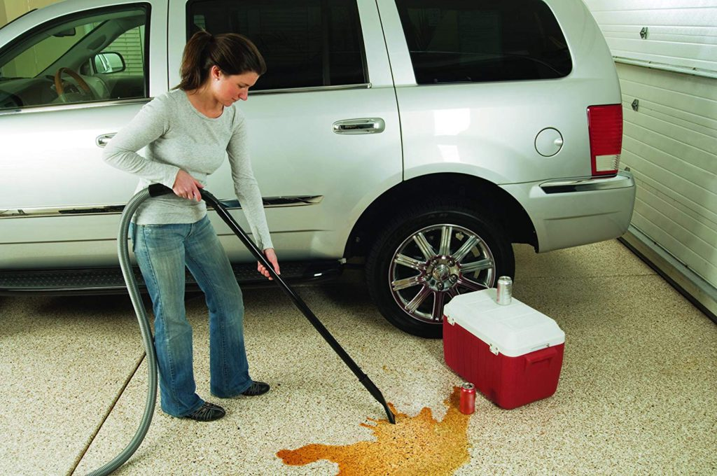 Bissell-Garage-Pro-Wall-Mounted-Wet-Dry-Vacuum-Cleaner-Blower-With-Auto-Tool-Kit-18P03