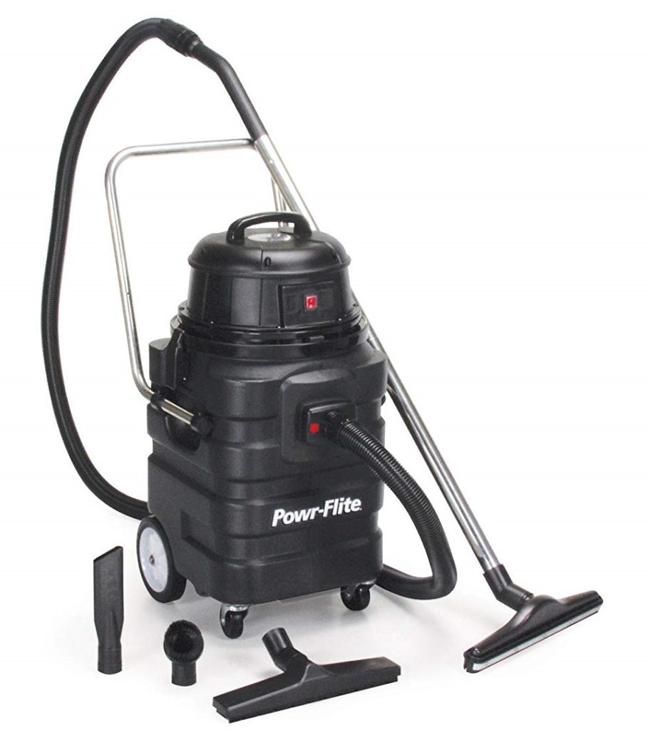 Powr-Flite-PF54-Wet-Dry-Vacuum-with-Polyethylene-Tank-and-Tool-Kit-15-gal-Capacity