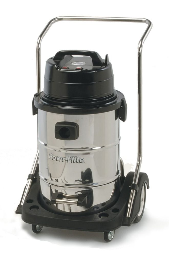 Powr-Flite-PF57-Dual-Motor-Wet-Dry-Vacuum-with-Stainless-Steel-Tank