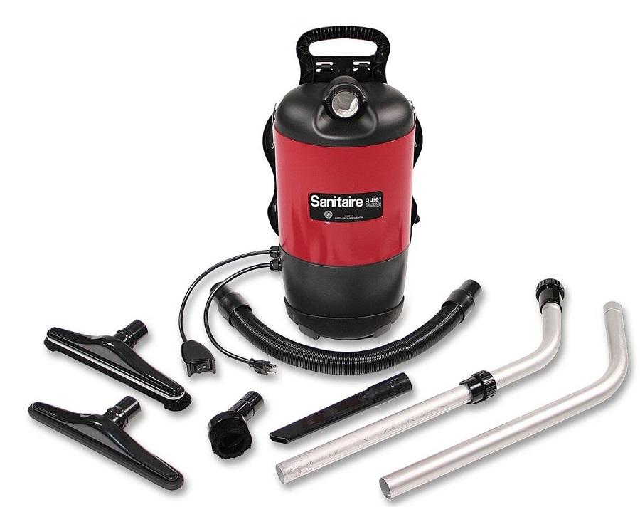 Sanitaire-EURSC412B-QuietClean-Backpack-Vacuum