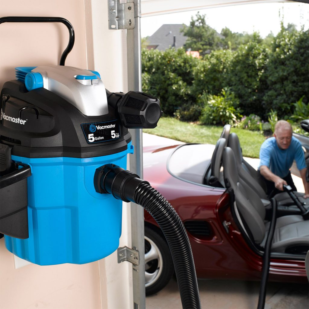 Vacmaster-5-Gallon-5 Peak-HP-with-2-Stage-Motor-Wet-and-Dry-Vacuum-Cleaner-Wall-Mountable