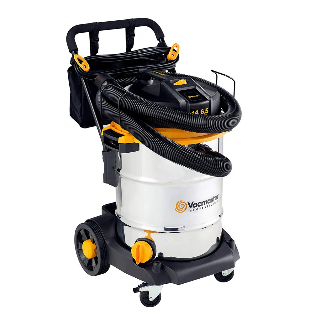 Vacmaster-Beast-Professional-Series-14-Gal-6.5-HP-Steel-Tank-Wet-Dry-Vacuum-with-Cart