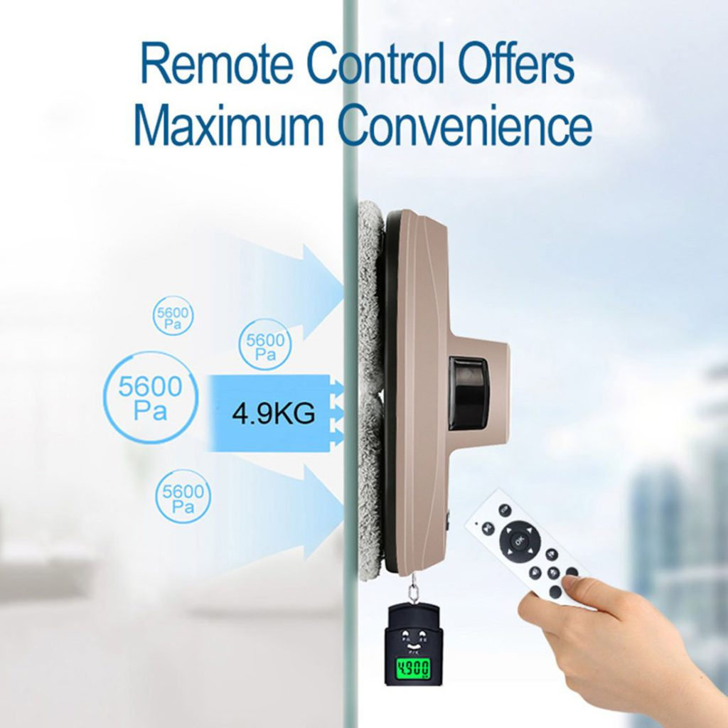 FENGRUI-R-C901-Smart-Magnetic-Window-Cleaner-Robot-Automatic-Infrared-Remote-Cleaner
