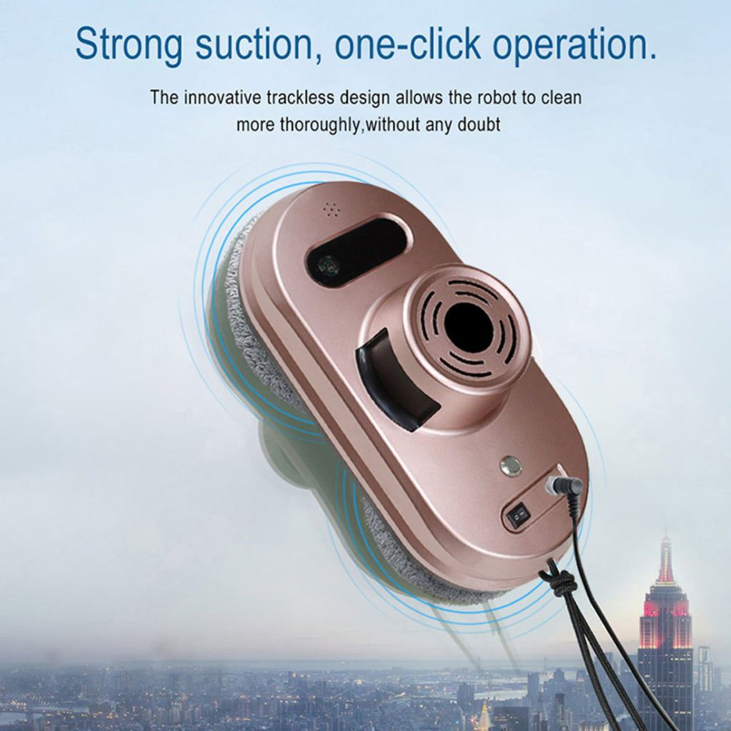 FENGRUI-R-C901-Smart-Window-Cleaner-Robot-Automatic-Infrared-Remote-Cleaner
