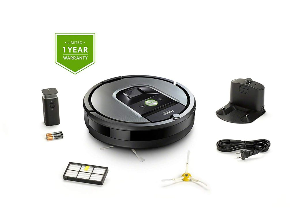 iRobot-Roomba-960-Robot-Vac-Contents