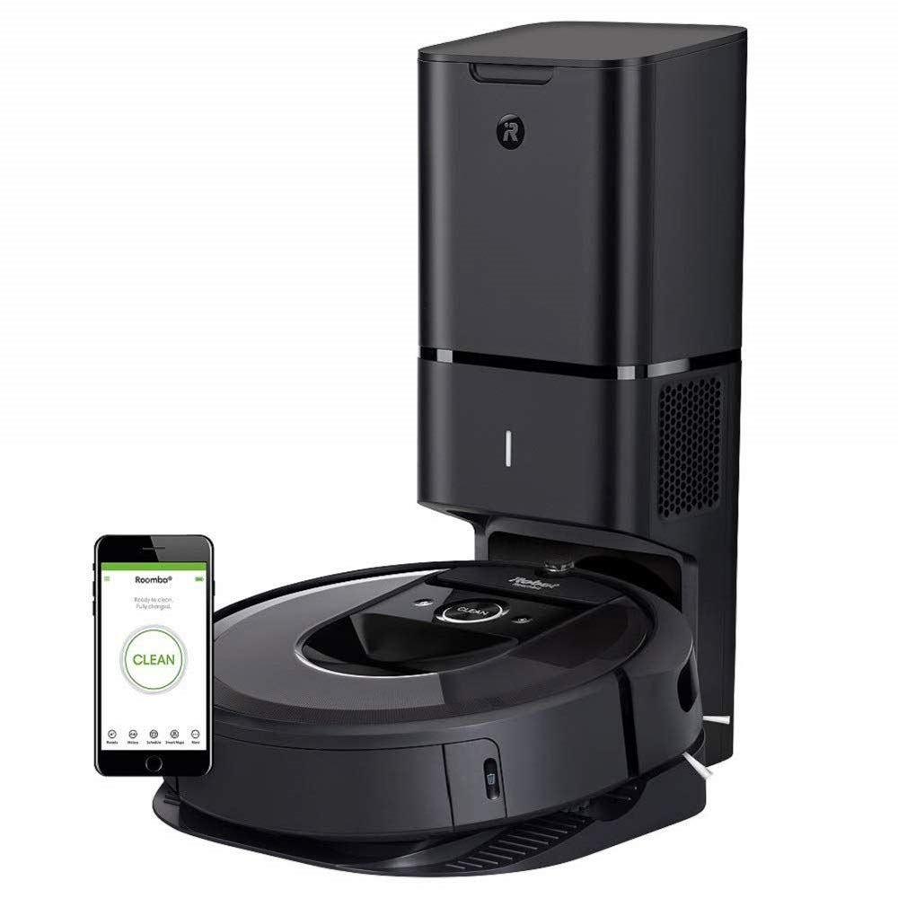 iRobot-Roomba-i7+(7550)-Robot-Vacuum-with-Automatic-Dirt-Disposal-Wi-Fi-Connected