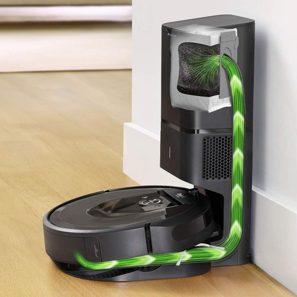 iRobot-Roomba-i7+(7550)-Robot-Vacuum-with-Automatic-Dirt-Disposal