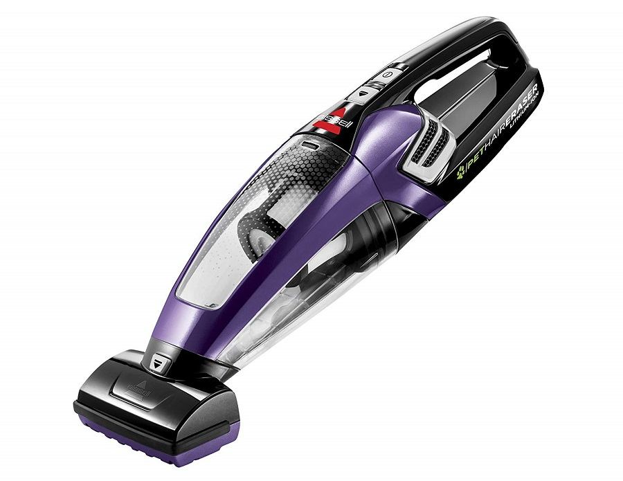 BISSELL-Pet-Hair-Eraser-Lithium-Ion-Cordless-Hand-Vacuum-Purple