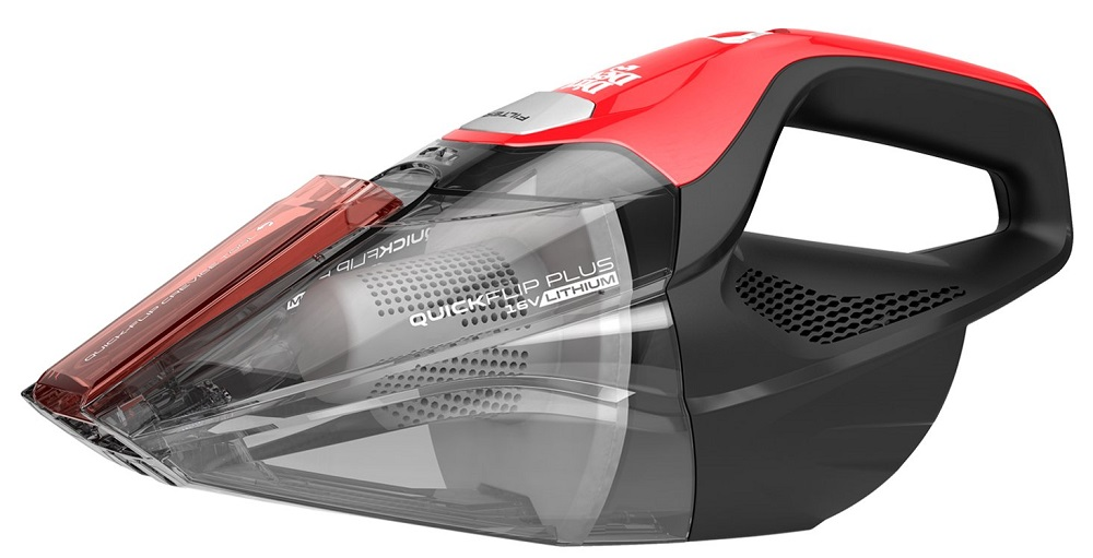 Dirt-Devil-Plus-16V-Quick-Flip-Pro-Cordless-16-Volt-Lithium-Ion-Bagless-Handheld-Vacuum-Cleaner