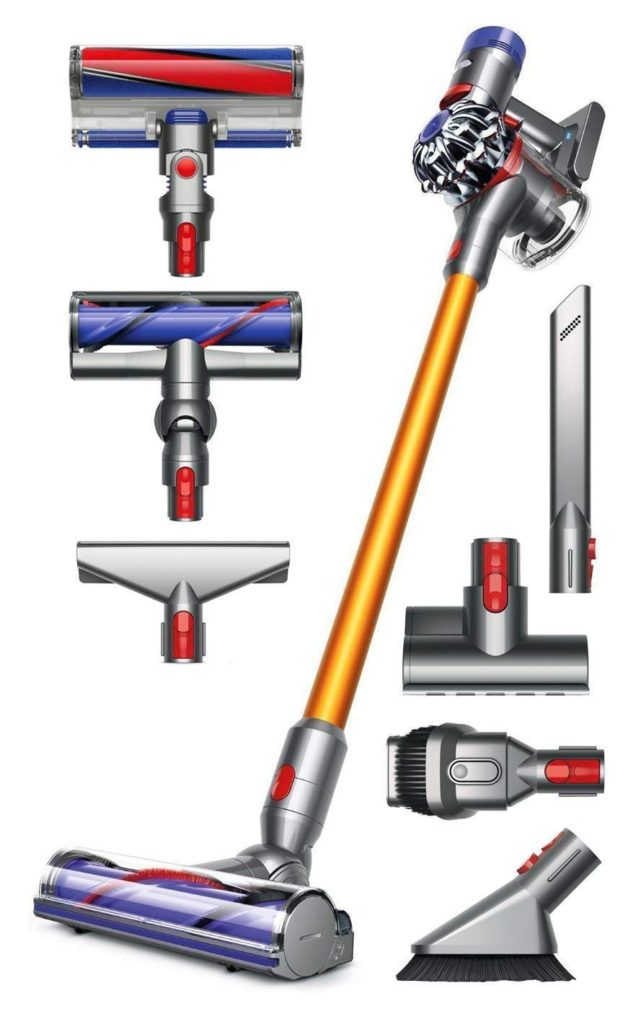 Dyson-V8-Absolute-Cordless-HEPA-Vacuum-Cleaner+Extra-Mattress-Tool-Bundle