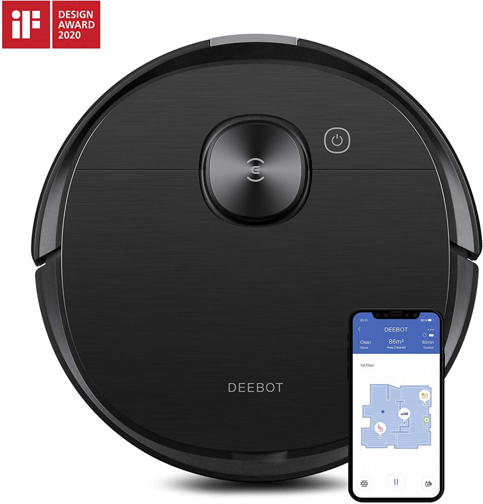 Ecovacs-Deebot-Ozmo-T8-AIVI-Robot-Vacuum-Cleaner-Mop-with-Smart-Objection-Recognition