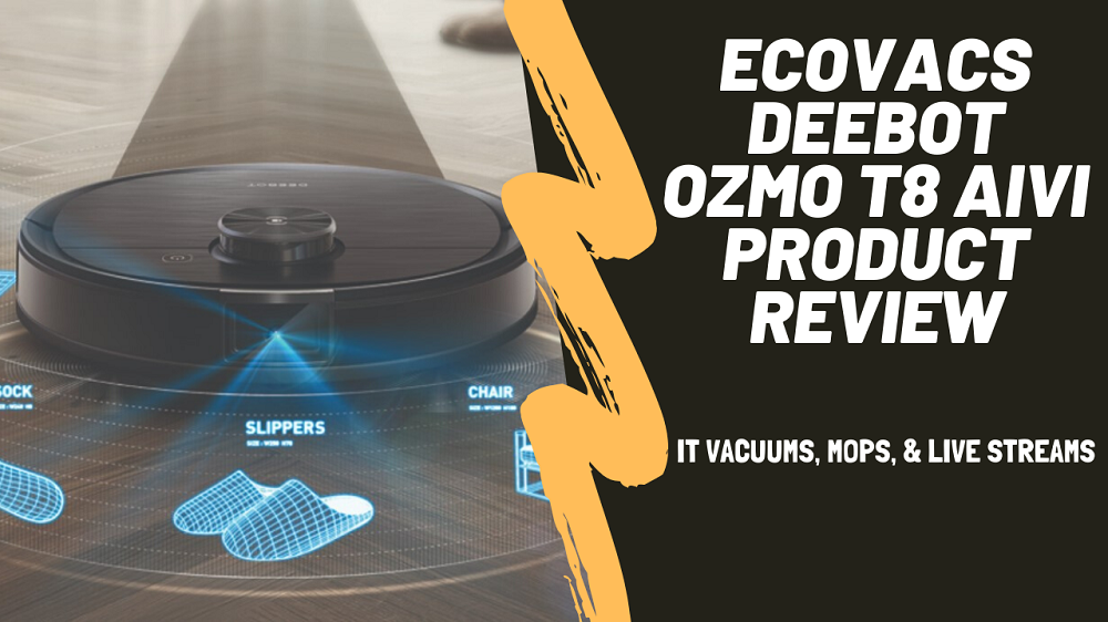 Ecovacs Deebot Ozmo T8 Review- Mop, Vacuum & Live Stream in HD!