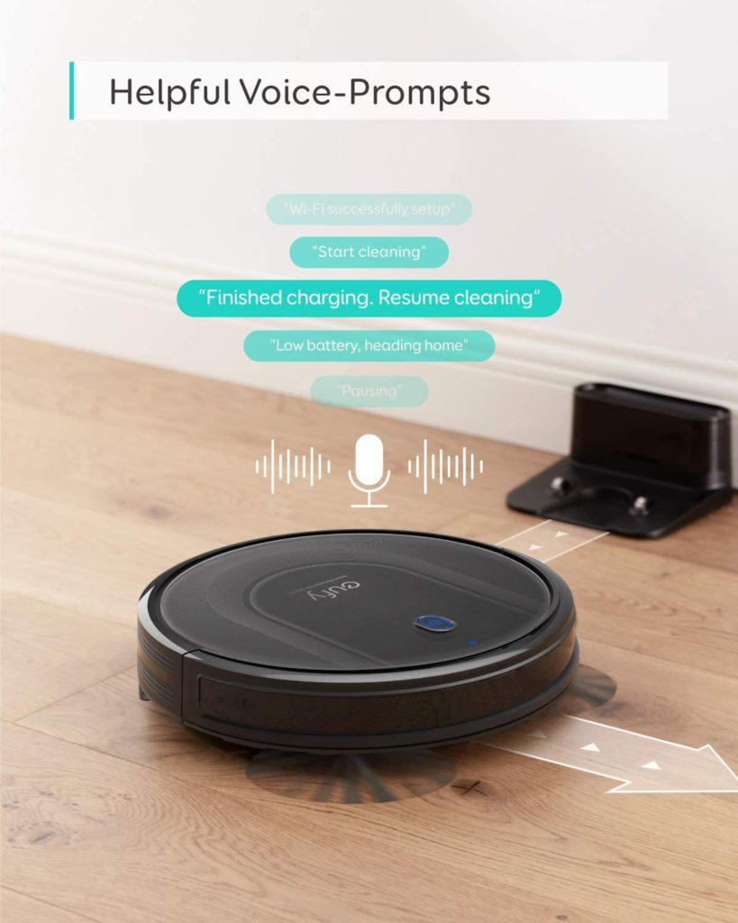 Eufy-Robovac-G10-Hybrid-Robot-Vacuum-Cleaner-Voice-Prompts