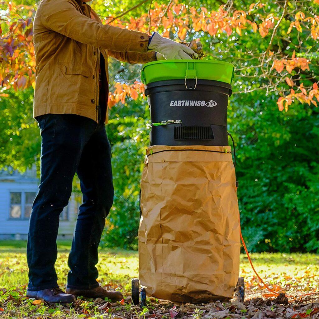 electric-powered-leaf-mulcher-shredder