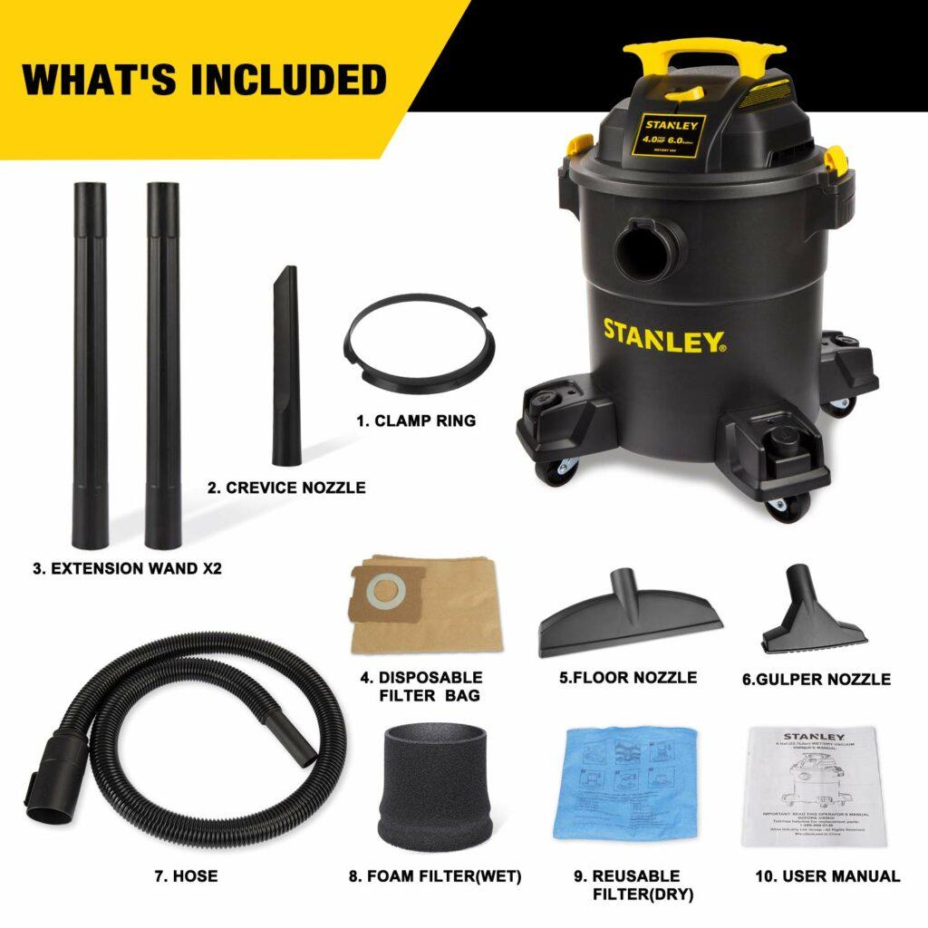 Stanley-SL18116P-Wet-Dry-Vacuum-specifications