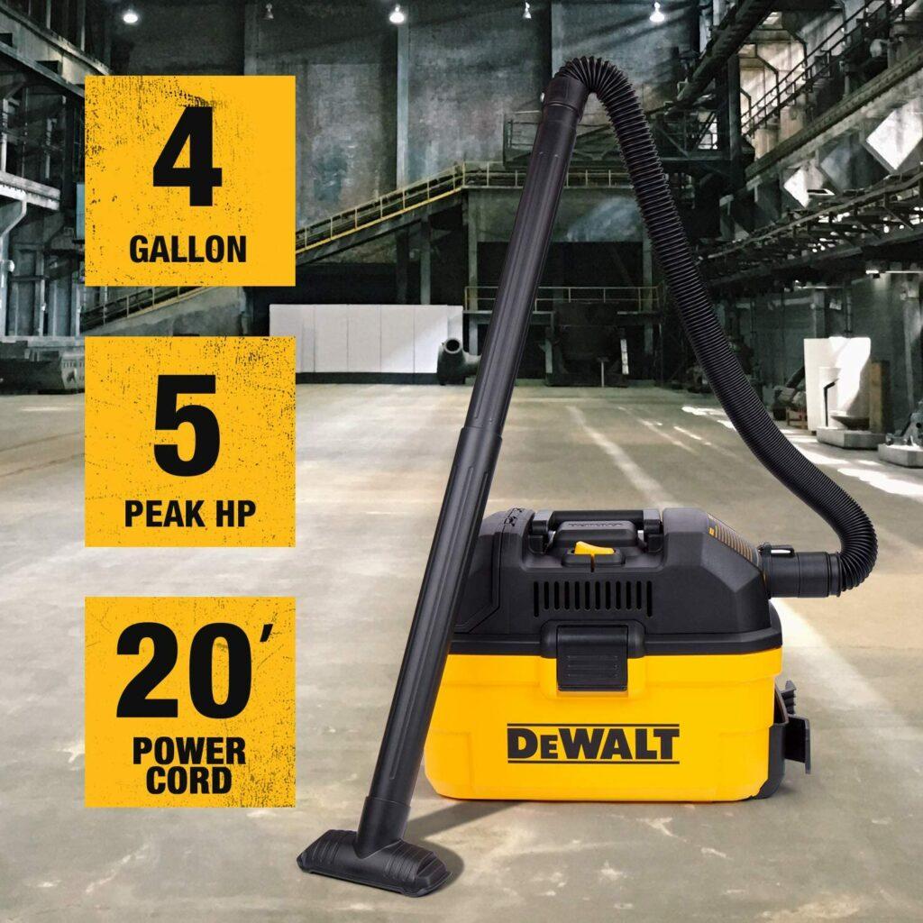 dewalt-DXV04T-wet-dry-vacuum-specifications