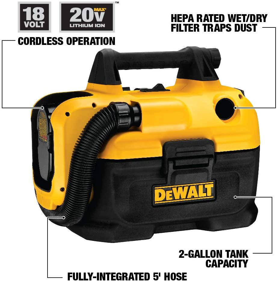 dewalt-dcv580H-cordless-wet-dry-vacuum-specifications