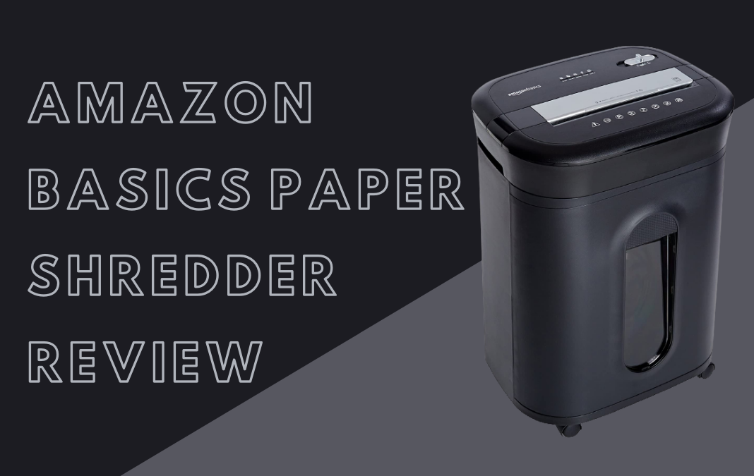 Amazon Basics Paper Shredder Review | Best Buy For Your Money