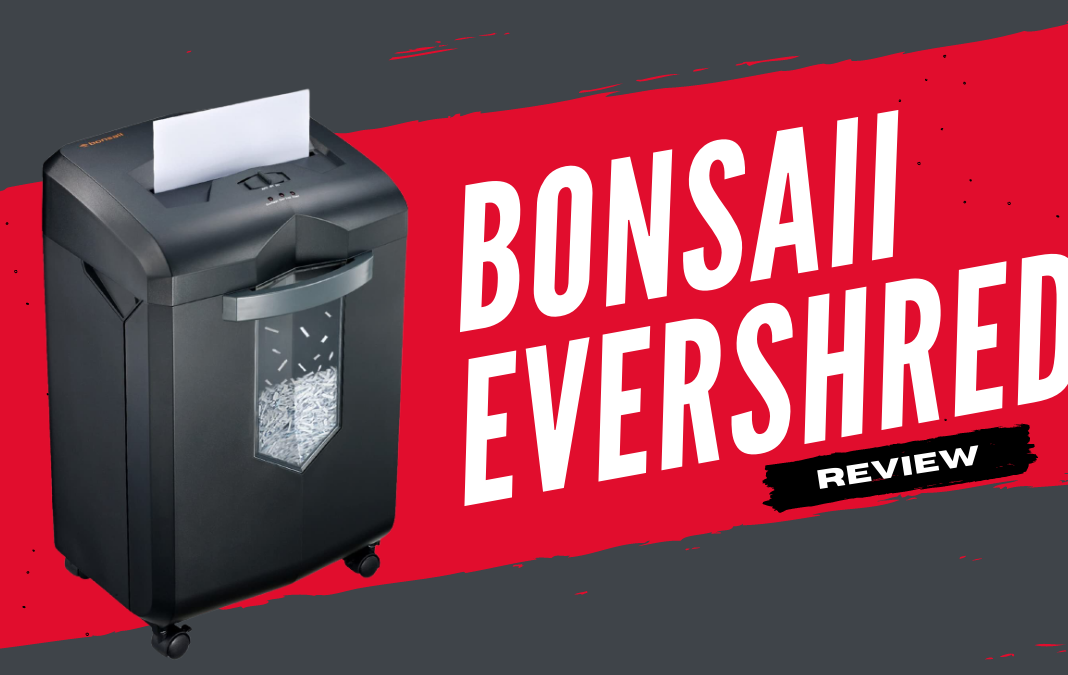 Bonsaii Evershred C149-c Paper Shredder Review | Why Investing in it is a Good Thing