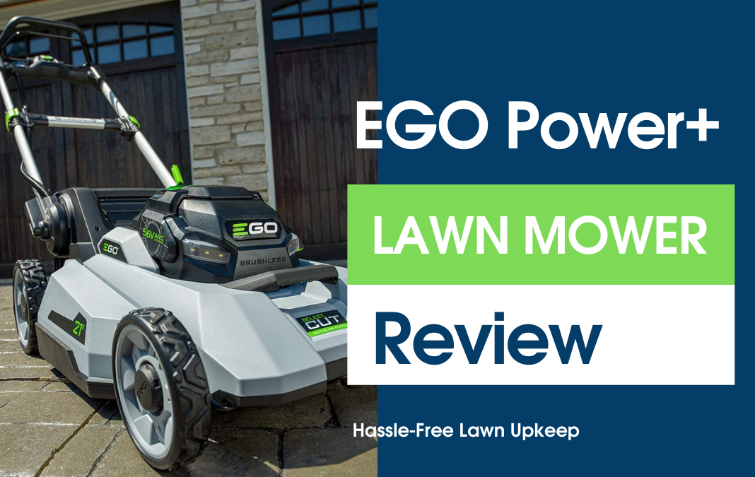 Ego Battery Powered Lawn Mower | Easy Hassle-Free Lawn Maintenance